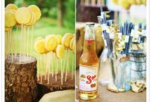 Outdoor garden parties