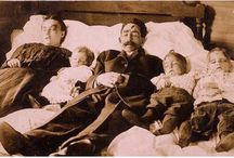 Vintage and Victorian Post-Mortem Photography / Creepy and Interesting