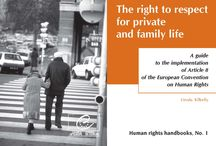 Human Rights Handbooks / Written by experts in the field, each handbook deals with one aspect of the European Convention on Human Rights or its protocols.