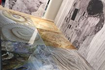 Wall decoration - resin floors / Our participation at HOMI International Exhibition - January 2016, Milan.