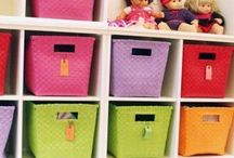 Children: toy storage ideas / by Jen Marley