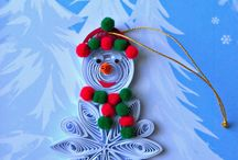 christmas cards quilling