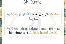 Arapça  türkçe