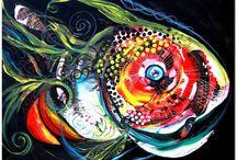Colorful Fish Art / Colorful Fish Art