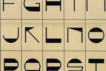 Lettering / fonts
