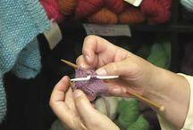 knitting / by Corinne Judd