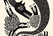 Illustration: Dragons