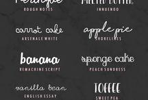 Fonts & graphics (most beautiful) / Fuentes y gráficos (los más bellos)