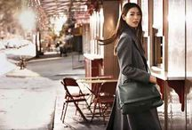 Fall 2015 Favorites / Gorgeous carryalls, saddle bags,  wine-colored, fringe and patchwork details, along with box and bucket styles, are the hottest handbag trends for fall 2015!