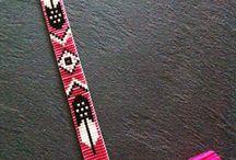 Bracelet brésilien : Aztèques