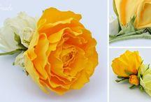 foamiran - kwiaty