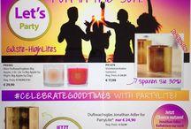 Juni Angebote bei Partylite Gastgeberin und Gäste