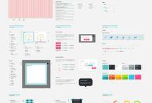 UI Styletiles & Wireframes
