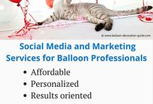 For The Balloon Professional / Resources, tips and advice for balloon professionals or those who want to start their own balloon business. From training to marketing to legal stuff, and how to calculate your prices, you'll find it here.