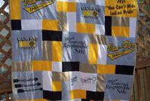 tshirt quilt ideas - something different