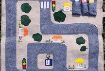car quiet time mat