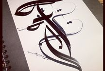 Awesome writinh / Calligraphy