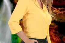 Blusas de Dama / Blusas de dama para oficina. Uniformes ejecutivos. Emporio Femenino. 4447146 Medellin