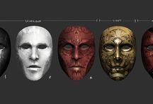 Maski - rysunek