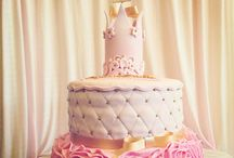Tiaras and Crowns / Cakes for princes and princesses of all ages! Made by The Sweet Art of Cake in Hayward CA