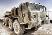 MAZ Russian Military Truck