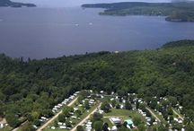 """Welcome to Lone Pine Campsites / Known across New England and beyond as """"Vermont's Favorite Family Campground"""", Lone Pine Campsites offers the quintessential Vermont camping experience in one of the most beautiful regions of the state, the Lake Champlain Valley."""
