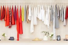 An Artist and Her [Dream] Closet / Dreams of an orderly closet and the beautiful items within it.