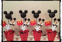 Mickey Mouse party / Decorations, food for Mickey/Minnie Mouse Oarty