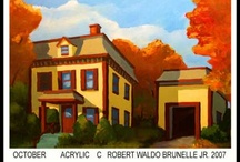 Architecture and Old Houses / Drawings, Sketchup Models, Paintings and photos of buildings that interest me.