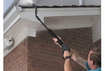 Gutter Cleaning Equipment / Clear debris from your household gutters quickly, easily and in complete safety, keeping both feet on the ground