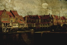 Enkhuizen / My ancestor Pierre Labuscaigne was a French Huguenot who lived in Enkhuizen for 10 years. After a great plague and the coldest winter in a thousand years, during the War of Spanish Succession, he sailed for Africa and never came back to Europe. He found safety in the wilderness that he never had in Europe.