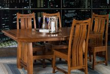 Amish Furniture / Living room, Dining room, Entertainment and Bedroom furniture. Made in America and crafted to last for generations.