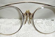 BEAUTIFUL GOLD FILLED PINCE NEZ ANTIQUE EYEGLASSES-EXC-CHECK IT OUT-