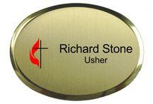 Church Name Tags