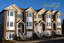Heritage Model / Photos of the Heritage Model Lehigh Valley Townhomes available from Paxos Homes.