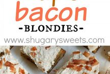 Baked Goods / A collection of delicious looking sweet and savory baked goods. Everything from cakes to brownies to cheesy baked dishes
