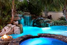 Dreamy Pool Ideas / by Jayne Kotey