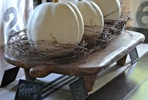 Fall Decor / Fall, autumn decor, DiY's for fall