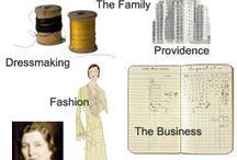 1900-2000 fashion - school work