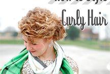Curly hair tutorials