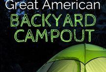 Outdoor: Camping / Backyard camping.