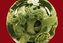 Chinese Puzzle Balls / Chinese Carvings Puzzle Balls / by Sabina Mugford