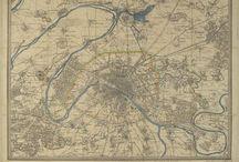 cartes France Paris