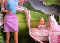 Ma Barbie / Queste sono le Barbie che io e mia sorella abbiamo posseduto nella nostra infanzia.