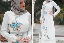 hijab bordir