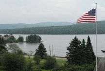 Holidays in Pittsburg, New Hampshire / Any holiday is a great time to spend at Lopstick in Pittsburg, NH! http://www.cabinsatlopstick.com / by Cabins at Lopstick