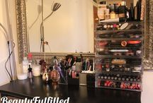 Makeup Storage Ideas / by Cult Nails