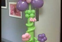 Композиции из шариков/Balloon Compozition