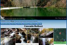 Waterfalls in Romania
