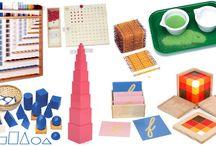 Ateliers autonomes / Activités autonomes, organisations, matériel... pour une pédagogie Montessori